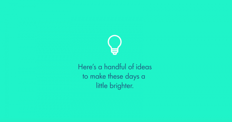 Tips to make your day a little brighter